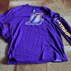 NBA LOS ANGELES LAKERS L/S Shirt